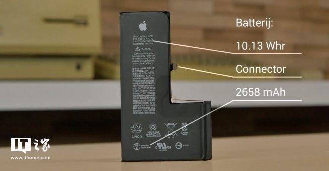 苹果iPhone XS首发拆解:L形电池设计有变