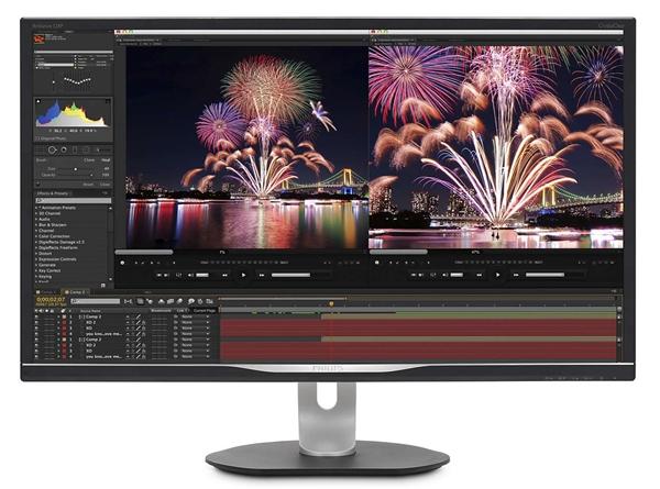 飞利浦发布4K专业显示器328P6VU:自带千兆网卡