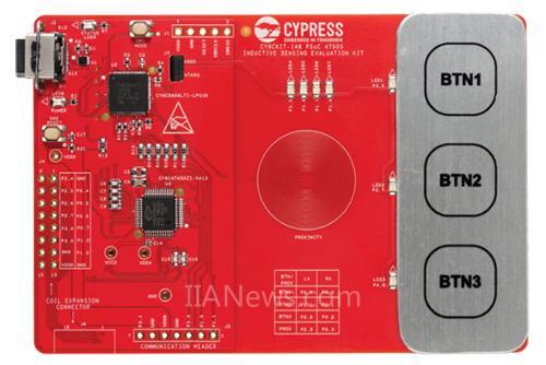 赛普拉斯推出MagSense电感式感应解决方案