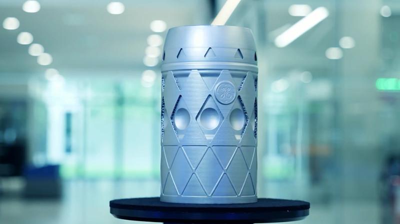 GE Additive 3D打印慕尼黑啤酒节啤酒杯