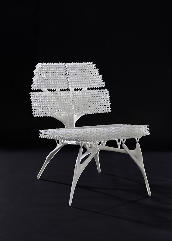 Lilian van Daal推出最新的3D打印仿生椅