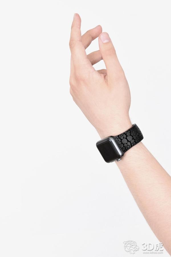 Freshfiber为Apple Watch提供时尚的3D打印表带