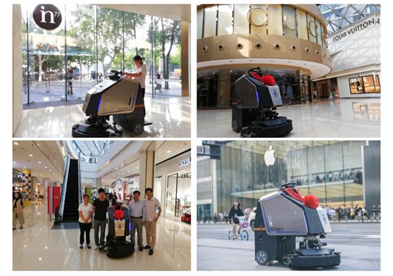 上海外滩、杭州银泰 高仙清洁机器人打卡城市地标