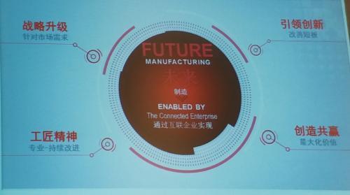 罗克韦尔自动化石安:从铁壶讲到工业4.0 揭开中国工业领域的痛点