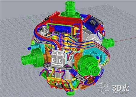 这个令人敬畏的3D打印机器人魔方可以解决自己
