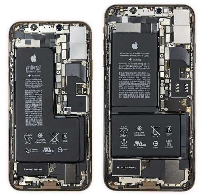 苹果iPhone XS Max物料成本曝光:屏幕真的贵