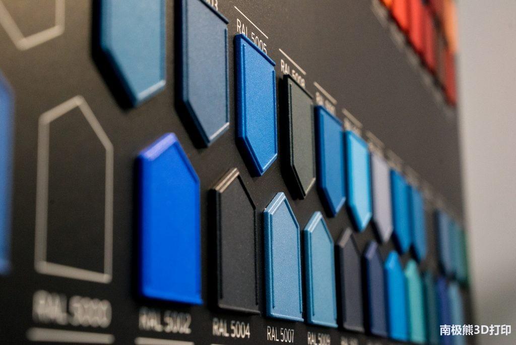 DyeMansion推出了彩色系統 為SLS激光燒結打印成品上色