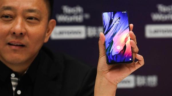 联想滑盖手机现身:屏占比近乎100% 或10月发布