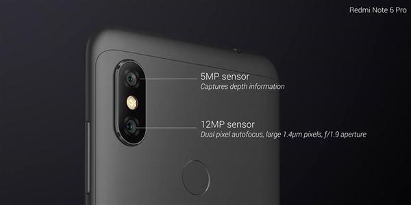 红米Note 6 Pro发布:4000mAh电池加持 1500元