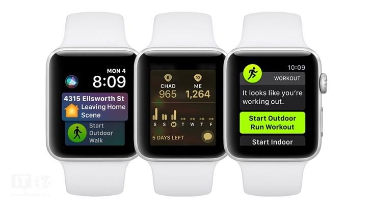 苹果推送watchOS 5.0.1更新