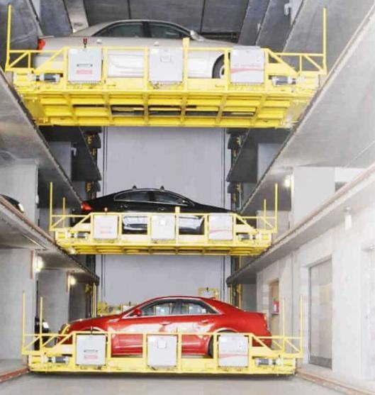 U-tron发布自动停车方案 采用机器人操作完成停车流程
