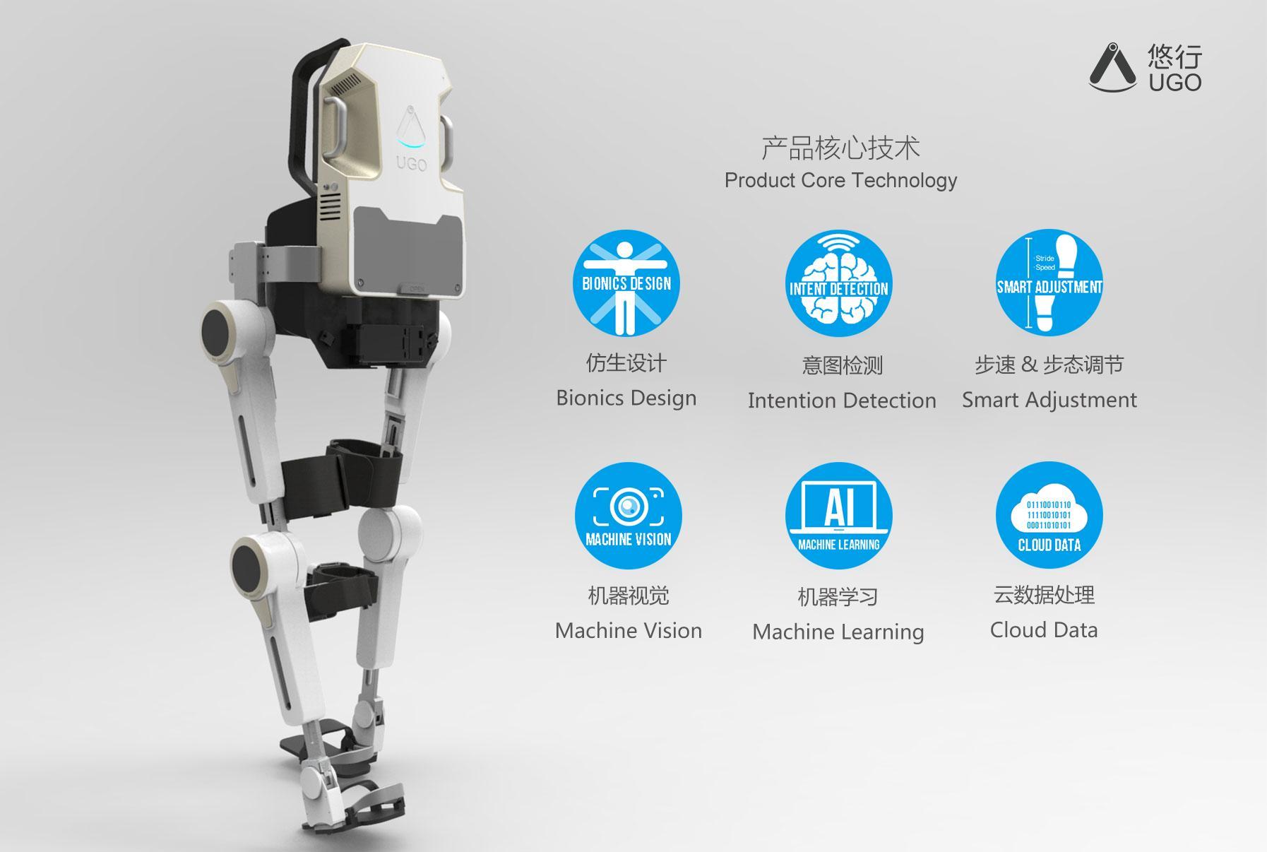 以外骨骼康复机器人为载体,程天科技帮助行动障碍者重获行动能力