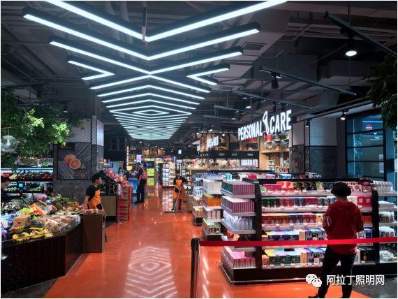 西安W super:超市这样做陈列与照明 顾客去了还想去