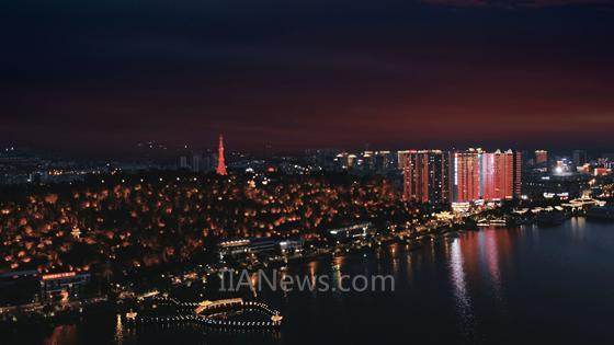 欧司朗大理城市亮化项目9月底全线完工