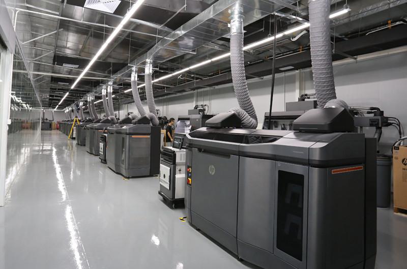 Forecast 3D打印中心将HP MJF 4210机器增加到24台