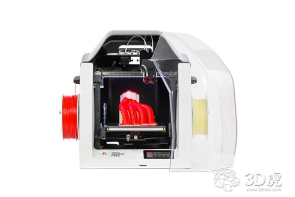 3DGence推出新型双挤出机3D打印机DOUBLE P255