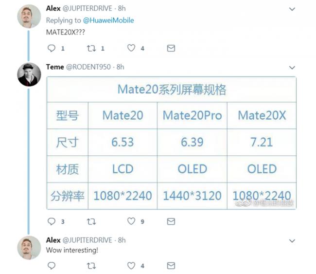 不止Mate20/Mate20 Pro!华为10月16日发布会再爆神秘新机