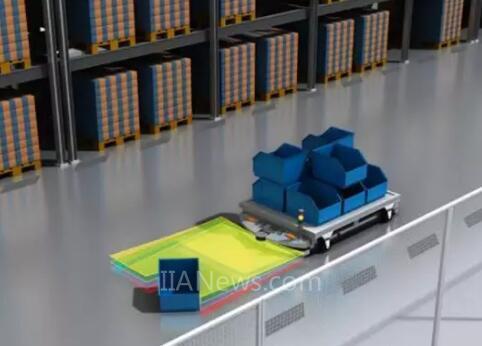 MRS1000 3D激光雷达之于AGV机器人