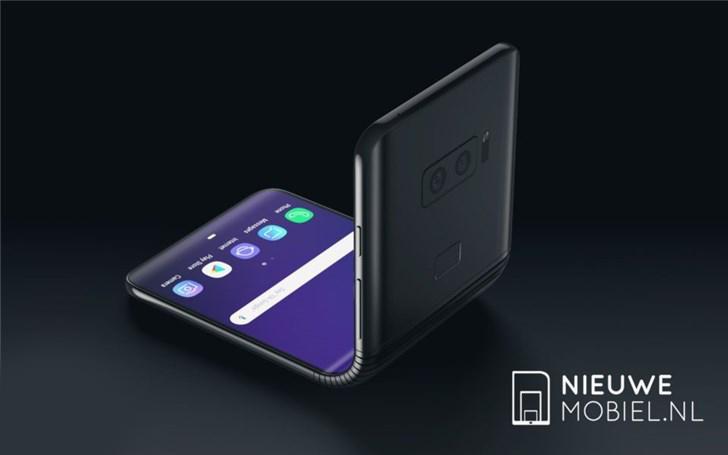 三星折叠手机最新概念图曝光:可弯可直的屏幕 比全面屏更惊艳