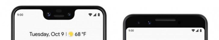 谷歌Pixel 3/3 XL正式发布:屏幕更大,新增无线充电