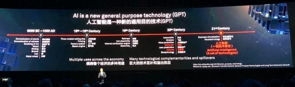 华为徐直军:人工智能将发生10大巨变,我们会提供全栈全场景的能力
