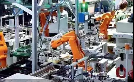 手机产业应用的9大工业机器人