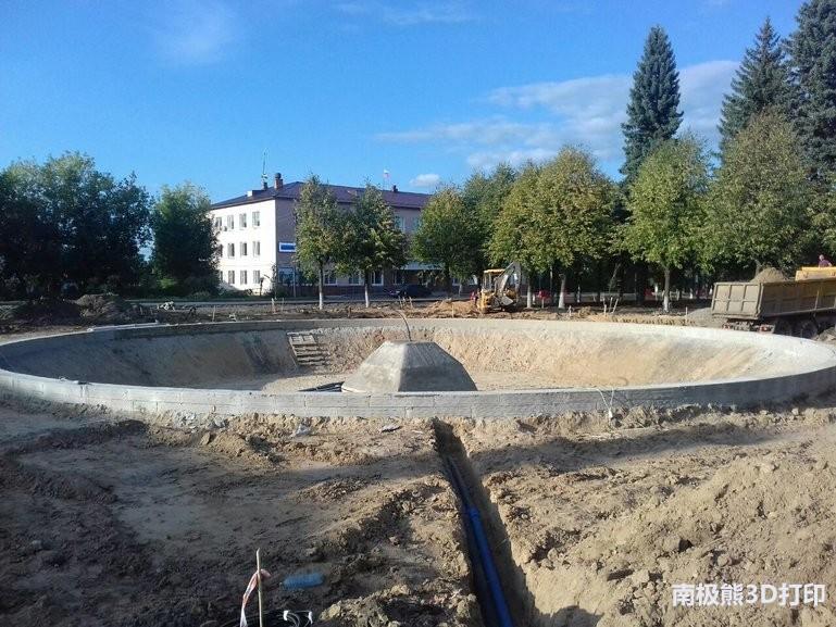 历史悠久的俄罗斯喷泉,采用混凝土3D打印进行修复