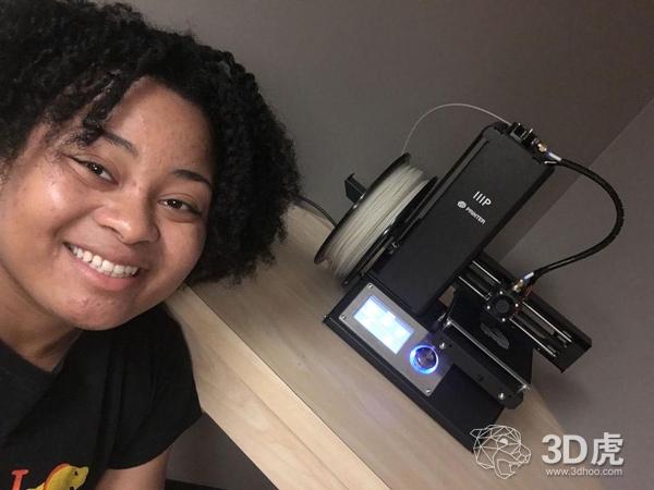 一学生将海洋入侵物种变成3D打印材料