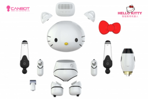 Hello Kitty机器人C位出道 教你编程的学伴萌宠