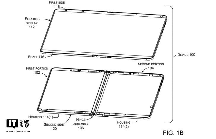 微软Surface仙女座设备再曝光:新型铰链,柔性双屏