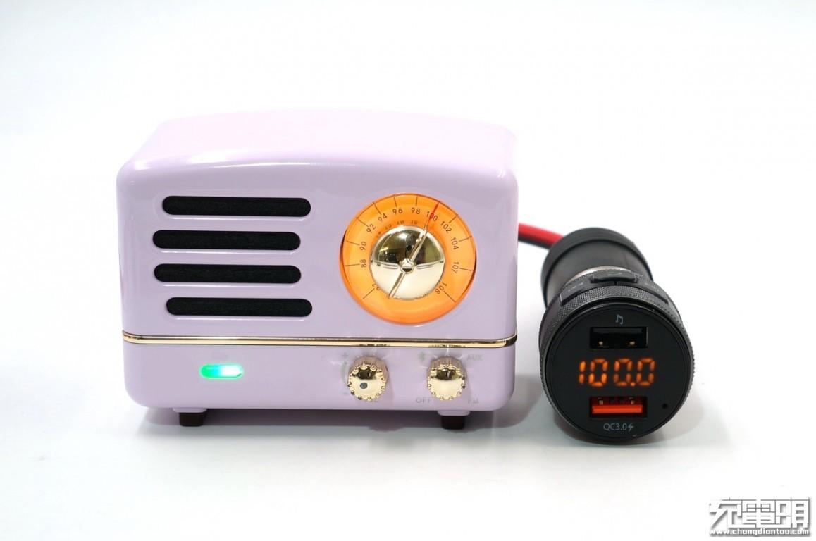 是车充也是播放器,先科AY-M97多功能车载蓝牙播放器评测