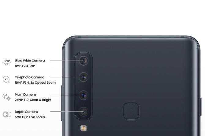 接棒华为P20 三星将发首款四镜头手机