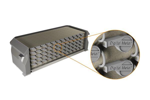无需人工 Digital Metal推出金属3D打印自动化生产理念