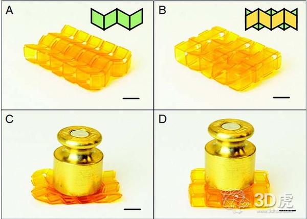 研究人员开发出3D打印可扩展折纸结构 可用于工程应用
