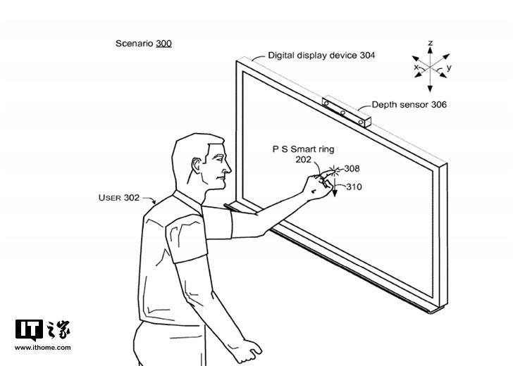 智能手环看够了,微软搞了一个智能指环专利
