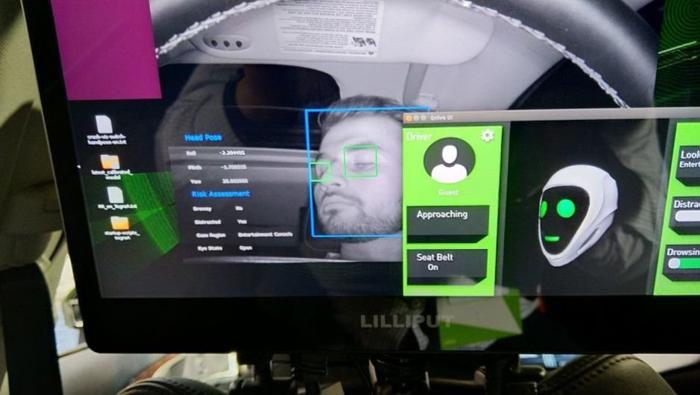 英伟达合作VisionLabs推面部识别自动驾驶汽车
