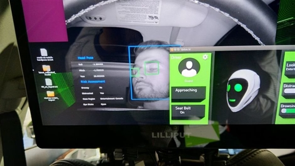 英伟达打造自动驾驶汽车 用面部识别实现无钥匙进入
