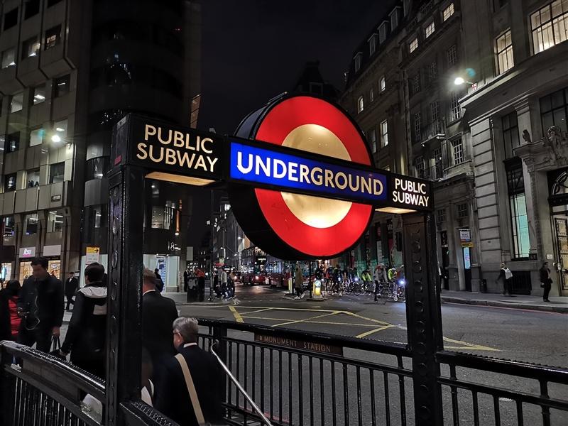 伦敦夜拍PK:华为Mate20 Pro对比iPhone XS Max/三星Note9