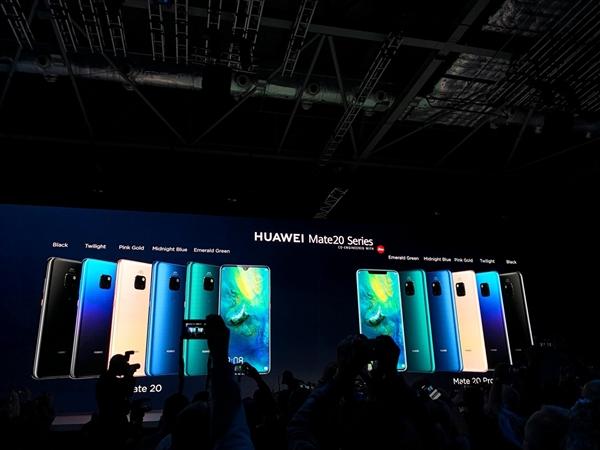 华为Mate 20系列支持全球最快15W无线快充140%于iPhone XS Max