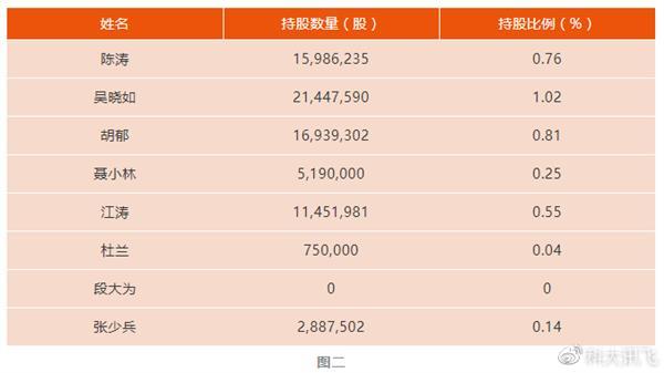科大讯飞全体高管增持股票 承诺6个月内不减持