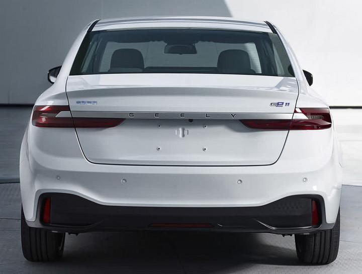 吉利全新纯电动车型GE11申报信息曝光 或将广州车展推出