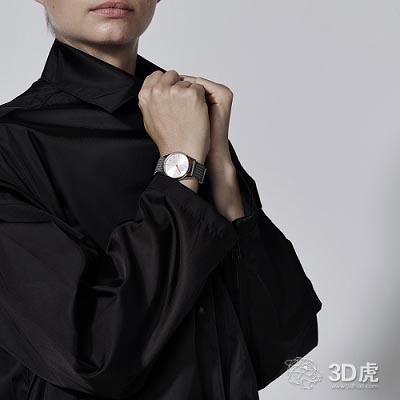 手表制造商与Betatype合作设计3D打印钛金表带