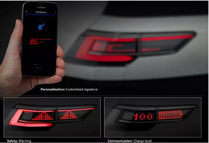 大众打造新型照明系统 能将信息投影到道路上
