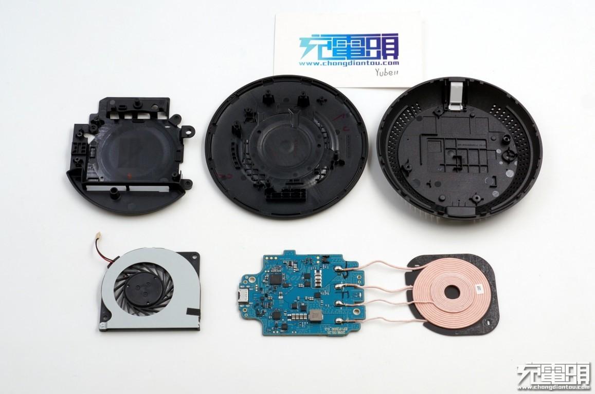 丝印agabb,同步整流降压芯片,为单片机和无线充电芯片供电.