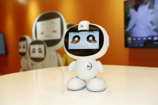 解决孩子学习烦恼 小哈教育机器人二代新品上市