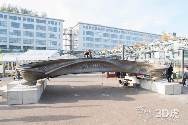 MX3D在荷兰设计周期间展出金属3D打印桥