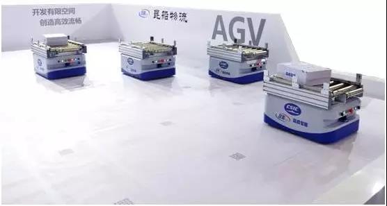 昆船智能:新出的两款AGV市场应用如何?