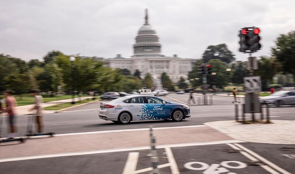 福特将在华盛顿特区测试自动驾驶汽车
