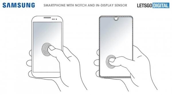 三星全屏指纹识别专利曝光:但离商用可能还很远
