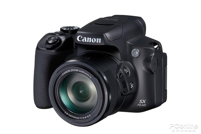 佳能SX70 HS相机正式登场:拥有65倍光学变焦
